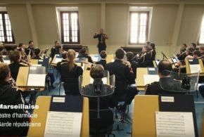 Visuel vidéo orchestre d'harmonie Marseillaise