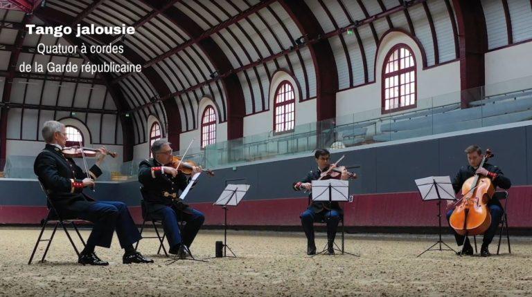 Visuel vidéo quatuor à cordes