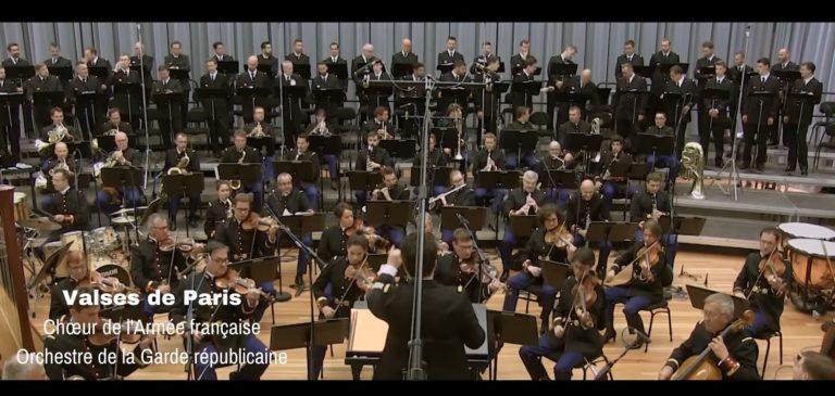 Visuel vidéo chœur valses de Paris