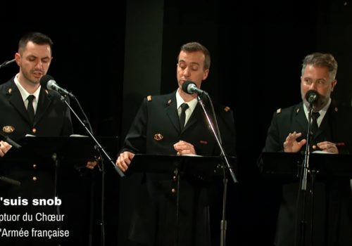 Visuel vidéo septuor chœur j'suis snob