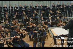 Visuel vidéo chœur champs-élysées